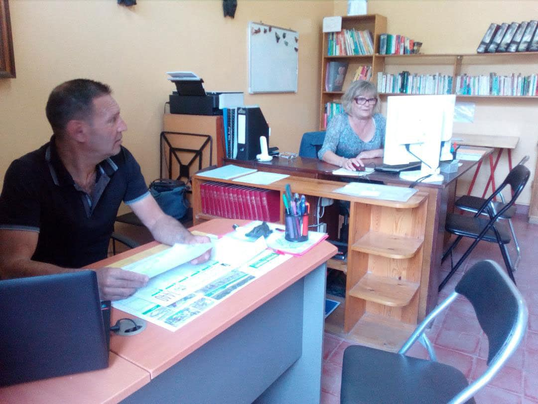 Gilles et Christine, direction d'Eureka : CNED Agadir